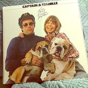 Vintage Captain and Tenille album